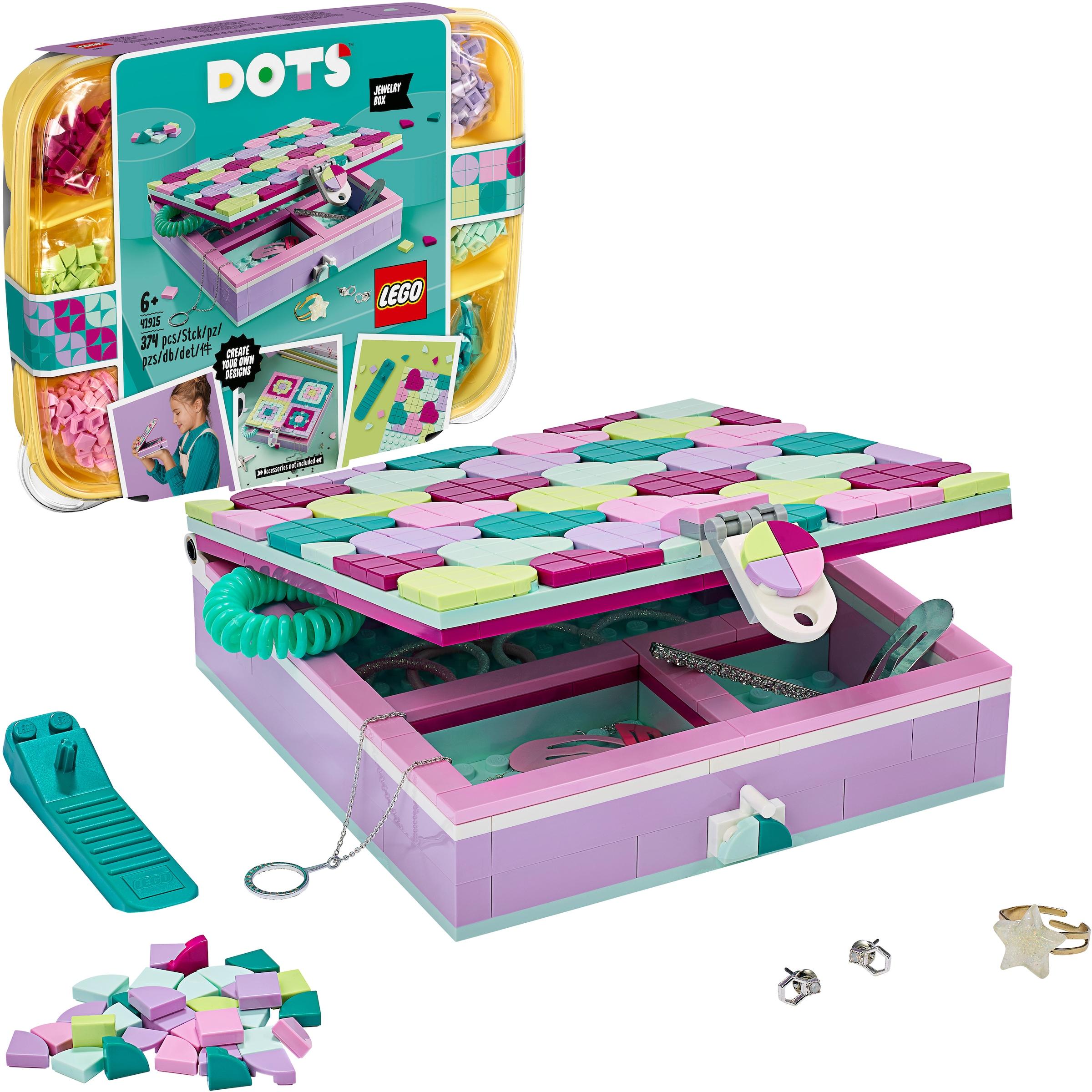 LEGO® Konstruktionsspielsteine »Schmuckbox 20, LEGO® Dots ...