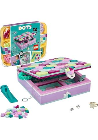 LEGO® Konstruktionsspielsteine »Schmuckbox (41915), LEGO® Dots«, (374 St.), Made in Europe kaufen