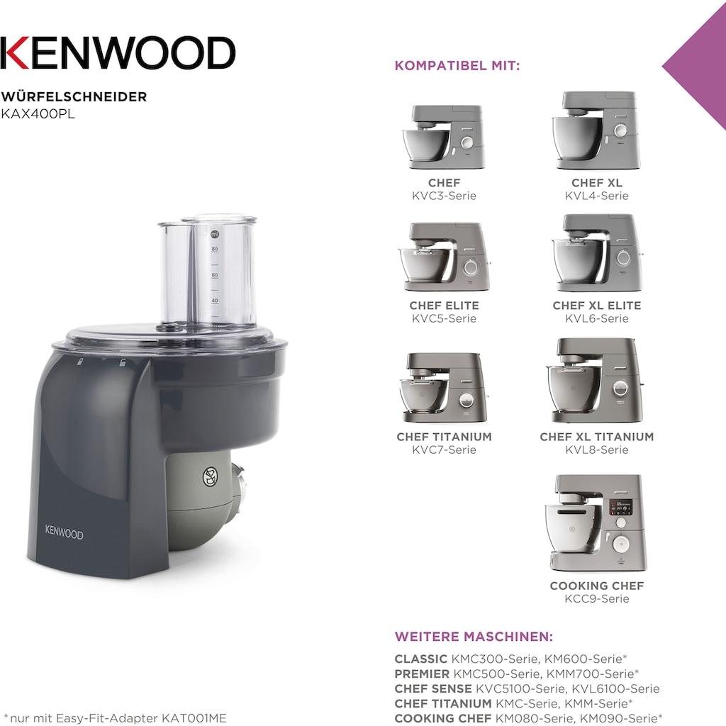 KENWOOD Würfelschneideraufsatz »KAX400PL«