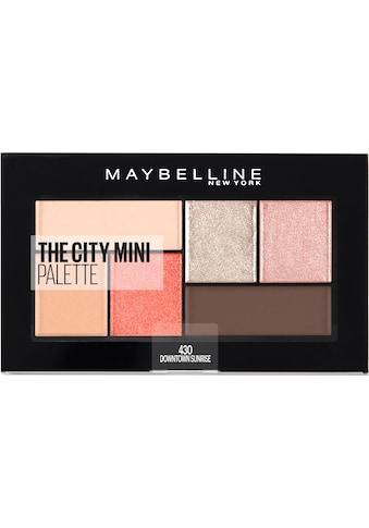 MAYBELLINE NEW YORK Lidschatten-Palette »The City Mini«, Downtown Sunrise kaufen