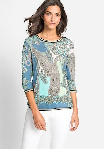 Olsen Rundhalsshirt, mit Paisley-Muster kaufen