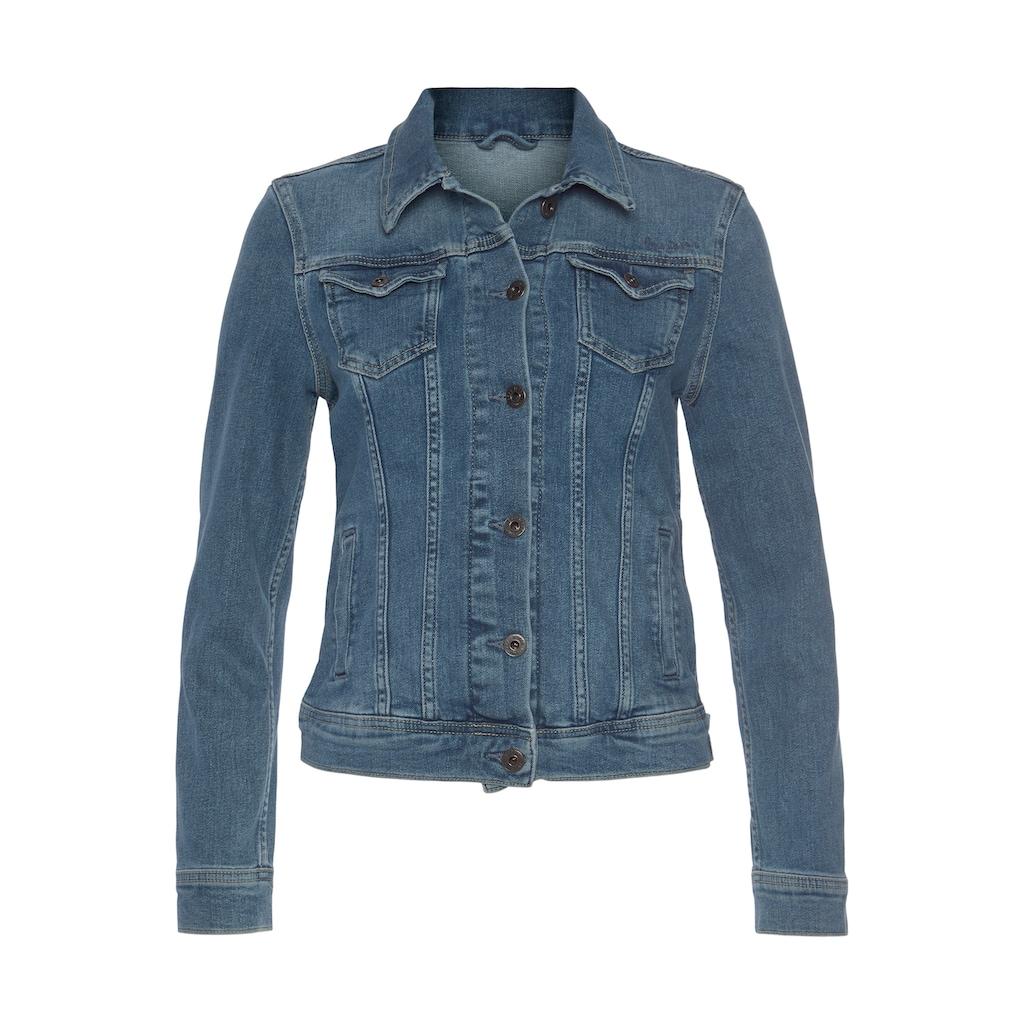 Pepe Jeans Jeansjacke »THRIFT«, mit vielen Teilungsnähten für eine optimale Passform