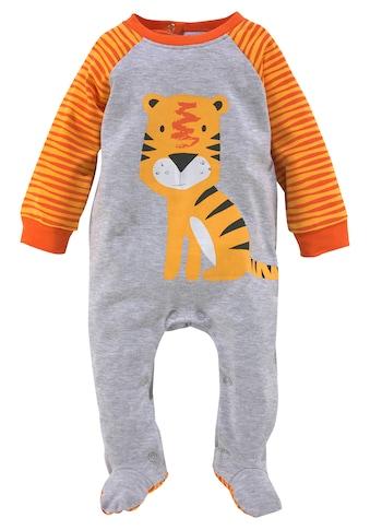 Klitzeklein Schlafoverall »Little tiger«, aus Bio-Baumwolle kaufen