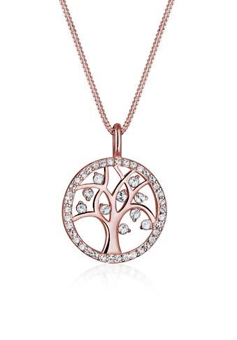 Elli Collierkettchen »Lebensbaum Kristalle Sterling Silber« kaufen