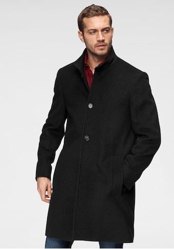 Calvin Klein Wollmantel »WOOL BLEND FUNNEL COAT« kaufen