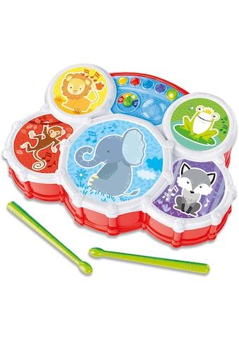 Clementoni® Spiel-Schlagzeug »Baby, Interaktives Schlagzeug« kaufen