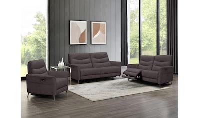 Places of Style Sitzgruppe »Oklahoma«, (3er-Set), Set bestehend aus Sessel, 2-Sitzer... kaufen