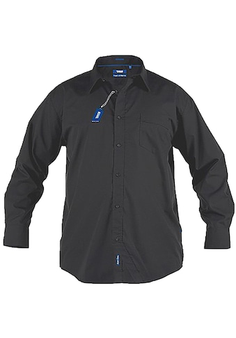 Duke Clothing Langarmhemd »Herren Corbin Kingsize, regulärer Schnitt« kaufen