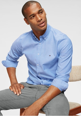 TOMMY HILFIGER Langarmhemd »CORE STRETCH SLIM OXFORD SHIRT« kaufen