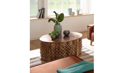 Home affaire Couchtisch »Vikrim«, rund, Breite 92 cm kaufen