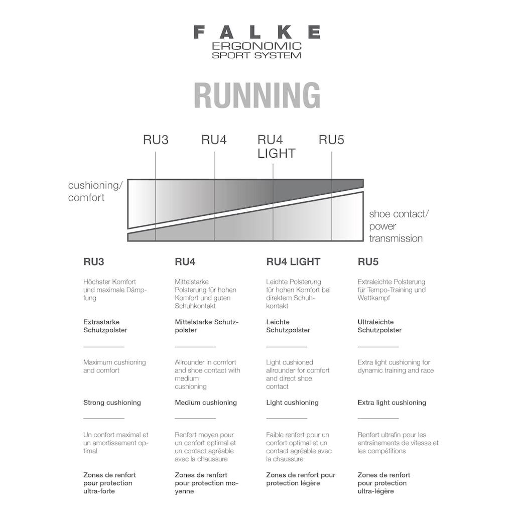 FALKE Laufsocken »RU4 Running«, (1 Paar), mit mittelstarker Polsterung