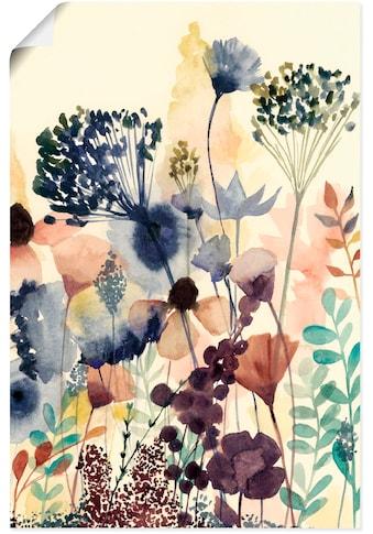 Artland Wandbild »Sonnengetrocknete Blüten II« kaufen