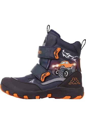 Kappa Winterboots »BIG WHEEL TEX K«, mit coolen Lichteffekten kaufen