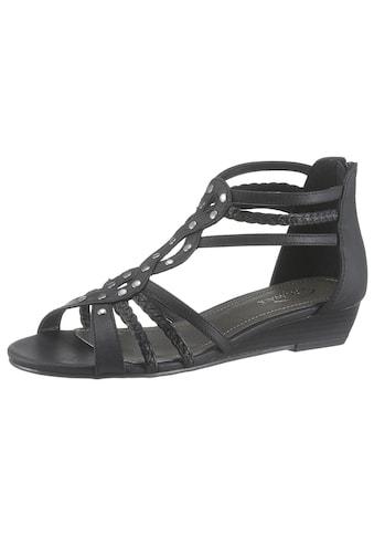 CITY WALK Sandalette, mit Fersen-Reißverschluss kaufen