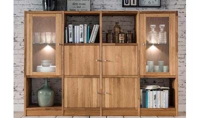 Premium collection by Home affaire Regal »Ecko«, aus massiver Wildeiche, Breite 181... kaufen