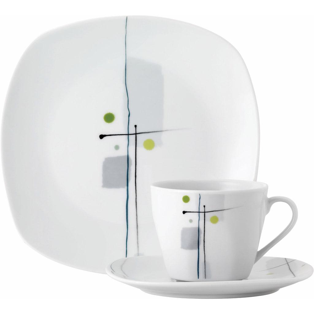 van Well Kaffeeservice »LIDO«, (Set, 18 tlg.), Spülmaschinengeeignet