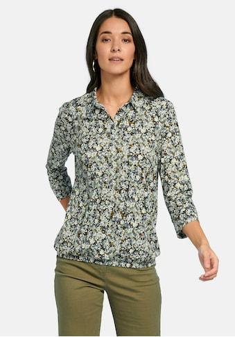 Peter Hahn Poloshirt »Polo-Shirt mit 3/4-Arm«, mit Ziernähten kaufen