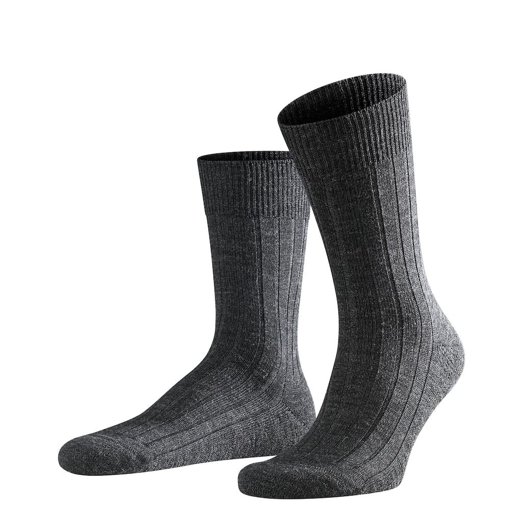 FALKE Socken »Teppich im Schuh«, (1 Paar), mit Plüschsohle
