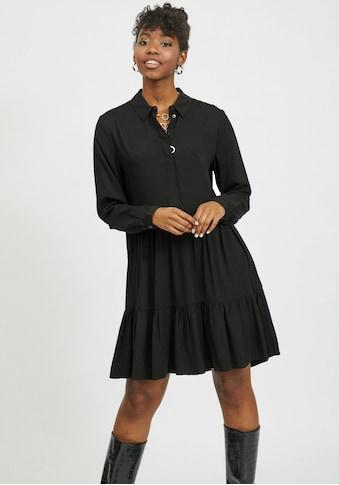 Vila Hemdblusenkleid »VIMOROSE«, in modischen Stufen kaufen