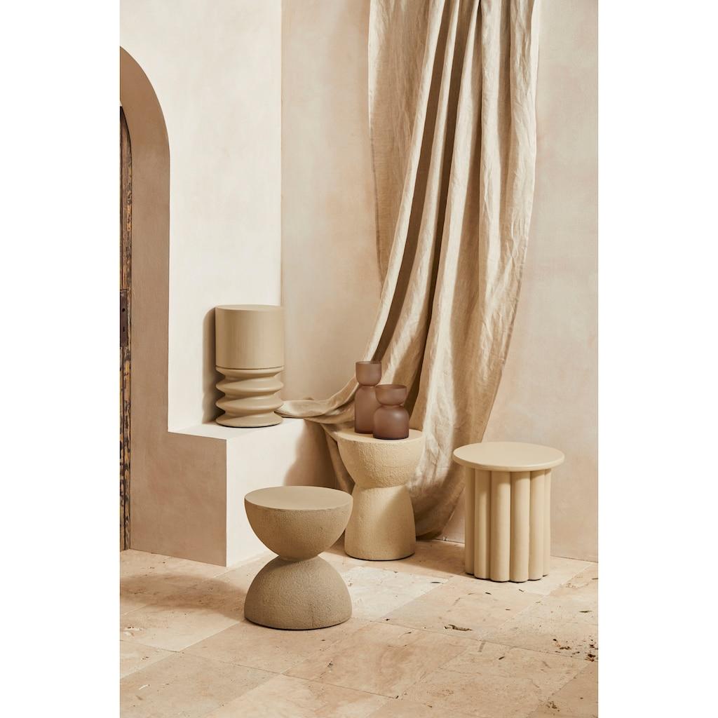 LeGer Home by Lena Gercke Beistelltisch »Amica«, in Betonoptik, Kegelform