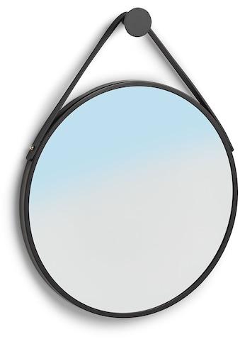 Zeller Present Wandspiegel »Wandspiegel, Metall/Kunststoff, schwarz«, (1 St.) kaufen