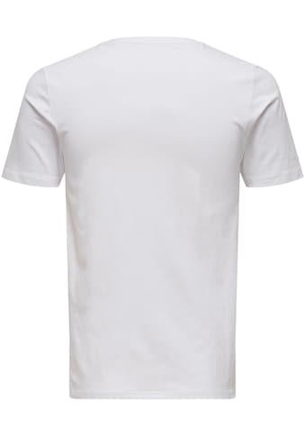 ONLY & SONS V - Shirt »BASIC V - NECK 3 PACK« kaufen