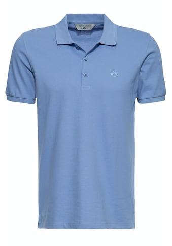 Way of Glory Poloshirt, aus hochwertigem Pikee kaufen
