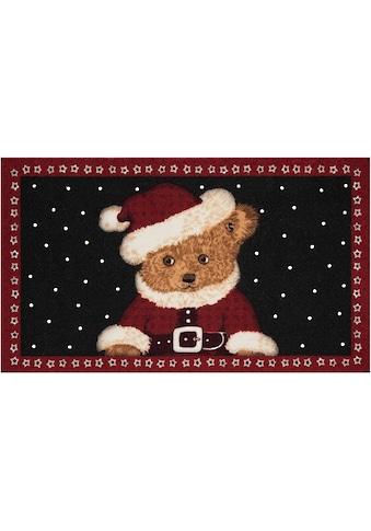 HANSE Home Fußmatte »Teddybear«, rechteckig, 7 mm Höhe, Fussabstreifer, Fussabtreter, Schmutzfangläufer, Schmutzfangmatte, Schmutzfangteppich, Schmutzmatte, Türmatte, Türvorleger, In- und Outdoor geeignet kaufen