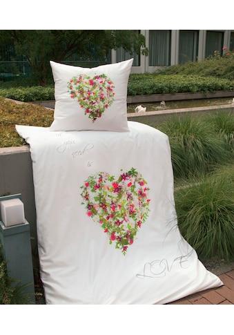 Janine Bettwäsche »modern art 42051«, mit floralem Muster kaufen