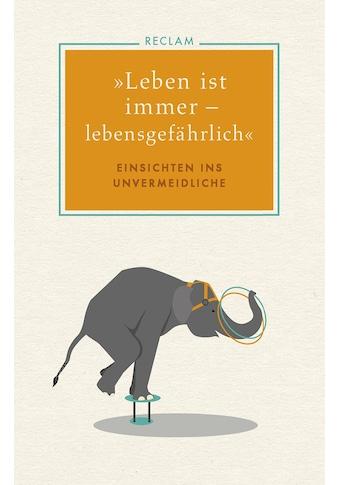 Buch »»Leben ist immer - lebensgefährlich« / Otto A. Böhmer, Otto A. Böhmer« kaufen