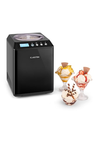 Klarstein Eiscremebereiter Eismaschine Frozen Yoghurt 250 W 2,5 l kaufen