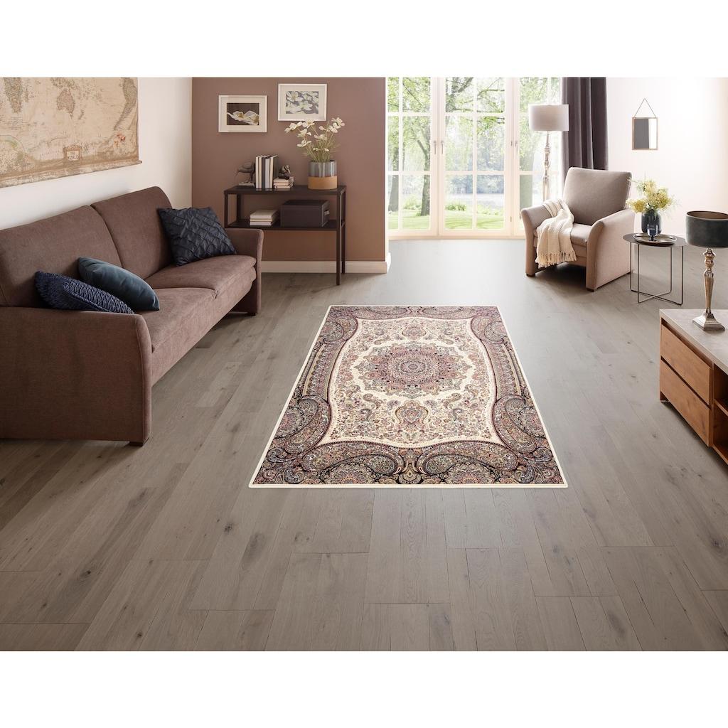 DELAVITA Teppich »Roxana«, rechteckig, 8 mm Höhe, Wohnzimmer