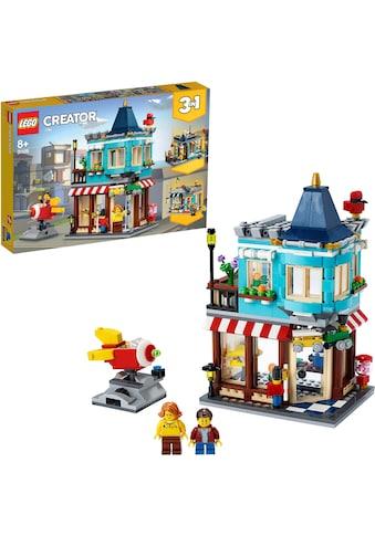 """LEGO® Konstruktionsspielsteine """"Spielzeugladen im Stadthaus (31105), LEGO® Creator"""", Kunststoff, (554 - tlg.) kaufen"""