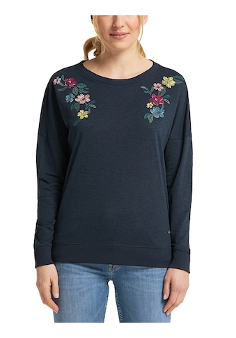 MUSTANG Langarmshirt »Anne C Embro«, Langarm kaufen