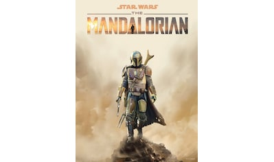 Komar Wandbild »Mandalorian Movie Poster«, Disney-Star Wars, (1 St.), 40 x 50 cm... kaufen