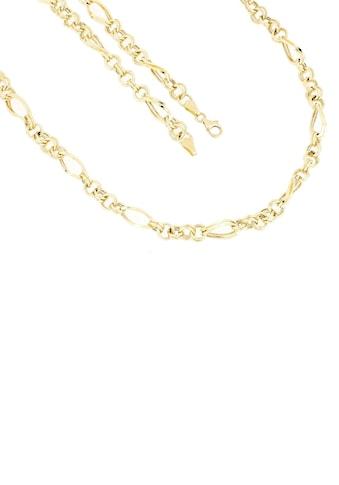 Firetti Goldkette »in Figarokettengliederung, 5,8 mm, glänzend, Zwillingsglieder rund/oval 5:1, halbmassiv« kaufen