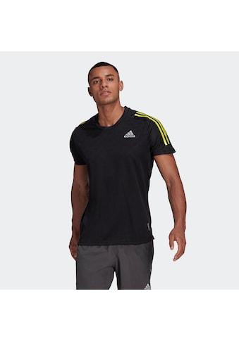 adidas Performance Laufshirt »OWN THE RUN 3-STREIFEN RUNNING T-SHIRT« kaufen