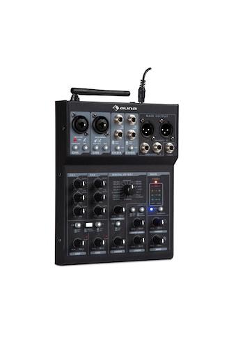 Auna 6 - Kanal Mixer Mischpult, BT, USB, MP3, 2 x XLR - Mischpult »DJMM2 - MX - 6UBT« kaufen