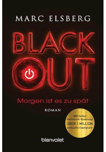 Buch »BLACKOUT - Morgen ist es zu spät / Marc Elsberg« kaufen