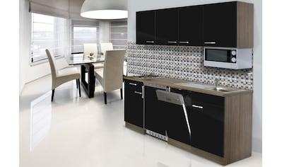 RESPEKTA Küchenzeile »York«, mit E-Geräten, Breite 195 cm kaufen