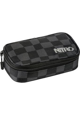 "NITRO Federtasche ""Pencil Case XL, Black Checker"" kaufen"