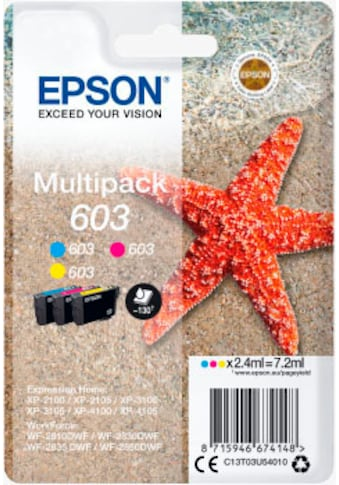 Epson Tintenpatrone »Multipack 3-colours 603 Ink« kaufen