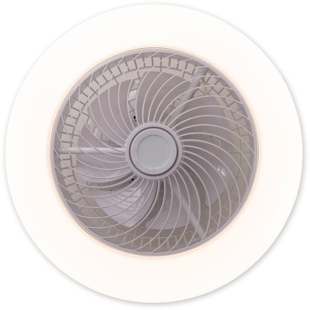 näve LED Deckenleuchte »Adoranto«, LED-Board, Farbwechsler, Deckenventilator, inkl. Fernbedienung, Decken Ventilator mit Leuchte Lampe Durchmesser Durchmesser 55 cm