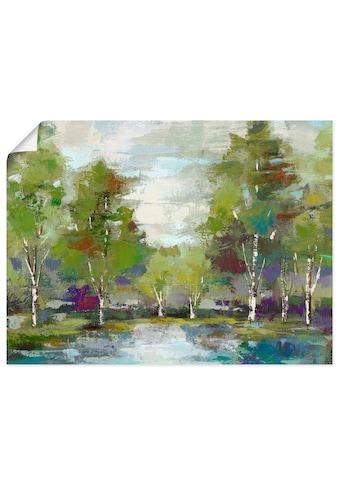 Artland Wandbild »Wald«, Wald, (1 St.), in vielen Größen & Produktarten -Leinwandbild,... kaufen