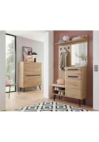 my home Garderoben-Set »Torge«, (Set, 2 tlg.), im schönen Scandi Look kaufen