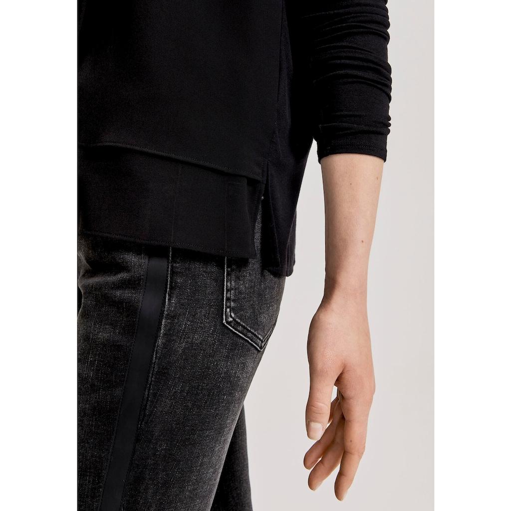 OPUS Klassische Bluse »Fogat«, im Lagen-Look