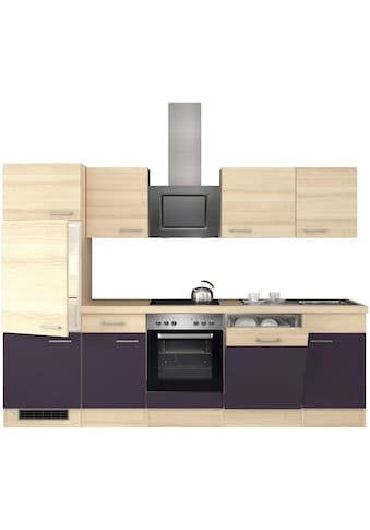 Flex-Well Küchenzeile, mit E-Geräten, Breite 280 cm kaufen