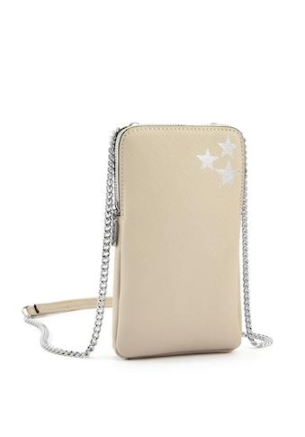 LASCANA Umhängetasche, Minibag, Handytasche zum Umhängen mit Stern Prägung kaufen