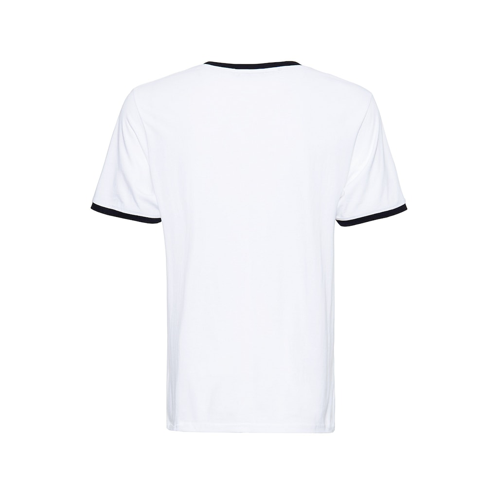 KingKerosin Print-Shirt »Speedfreak«, in angesagter Ringer-Optik