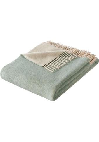BIEDERLACK Plaid »Soft Impression«, im Doubleface-Look kaufen